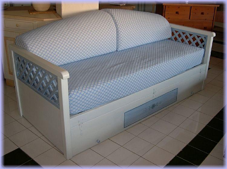 Divano letto legno